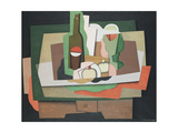 Still Life on a Table; Nature Morte Sur Une Table, 1925 Giclée-Druck von Georges Valmier