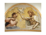 Coronation of Virgin Giclee Print by Antonio Allegri Da Correggio