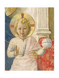 Detail of the Christ Child from the Madonna Delle Ombre Giclee Print by  Fra Angelico