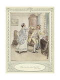 Illustration for Goldsmith's She Stoops to Conquer Giclee Print by Hugh Thomson