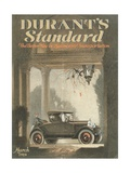 Front Cover of 'Durant's Standard' Magazine, March 1924 Giclee Print
