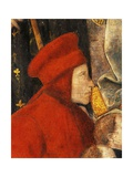 Francis Datini, Detail of Madonna Del Ceppo, 1452-1453 Giclee Print by Filippo Lippi