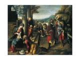 Adoration of Magi Giclee Print by Antonio Allegri Da Correggio