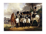 Portrait of the General Marquis De Talhout-Roy, 1818-19 Giclee Print by Emile Jean Horace Vernet
