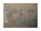 The Effects of Good Government in the City and Country, 1338 - 1339 Giclee Print by Ambrogio Lorenzetti