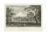 Gosfield Hall, the Seat of E G Barnard, Esquire, Essex Giclee Print by William Henry Bartlett