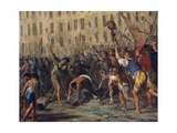 Killing of Father Giuseppe Carafa, July 10, 1647 Giclee Print by Domenico Gargiulo