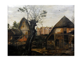 Landscape with Farmhouse, 1564 Giclee Print by Cornelis van Dalem