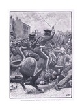 The Peterloo Massacre: Hussars Charging the People Ad 1819 Giclee Print by Henry Marriott Paget