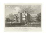 Marks Hall, Coggeshall, Essex, the Seat of Mrs Honeywood Giclee Print by William Henry Bartlett