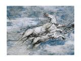 Phaeton on Sun Chariot Giclee Print by Girolamo Romanino