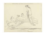 Thetis Ordering the Nereids to Descend into the Sea Giclee Print by John Flaxman