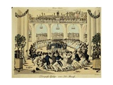 Austria,Vienna, Couples Dancing the Gallop Giclee Print by Andreas Geiger
