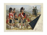 The Princess Louise's Argyll and Sutherland Highlanders Giclee Print by Richard Simkin