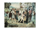 Joseph Sold by His Brethren, 1816-1817 Giclee Print by Johann Friedrich Overbeck