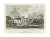 Easton Lodge, Near Great Dunmow, the Seat of Viscount Maynard, Essex Giclee Print by William Henry Bartlett