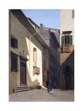 Santa Maria Dei Bardi, 1870 Reproduction procédé giclée par Telemaco Signorini