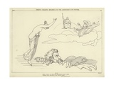 Thetis Calling Briareus to the Assistance of Jupiter Giclee Print by John Flaxman