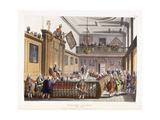 Heralds College: the Hall, from 'The Microcosm of London', 1808-1810 Giclee Print