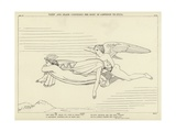 Sleep and Death Conveying the Body of Sarpedon to Lycia Giclee Print by John Flaxman