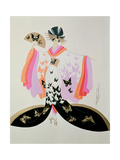 Costume Design for 'Madame Butterfly' by Puccini, 1945 Giclee Print