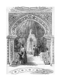 Reopening of the Colosseum, Regent's Park: the Conservatory, 1845 Giclee Print