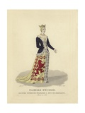 Isabella of Scotland, Wife of Francis I, Duke of Brittany Giclee Print