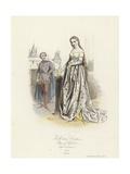 Full Dress Costume of the Reign of Charles V of France Giclee Print