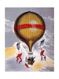 Advertisement for Balloons Manufactured by H. Lachambre, 1880-1900 Giclee Print