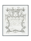 Invitation to the Tallow Chandlers Company Ball, London Giclee Print