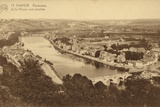 Postcard Depicting a Panorama of La Meuse Vers Jambes Photographic Print