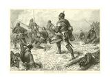 Prussian Drummer on the Battle-Field, September 1870 Giclee Print