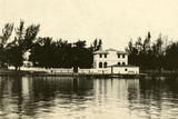 Al Capone''s Home on Palm Island, Miami Beach, C.1928 Photographic Print