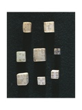 Game Objects Made from Ivory, Dice, from Volubilis Wydruk giclee