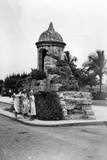 Remnant of the Old Wall Which Once Surrounded the City of Havana, C.1955 Photographic Print