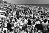 Fort Lauderdale Beach Crowded with Spring Breakers, 1964 Photographic Print