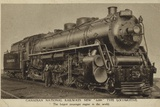 Canadian National Railways New 6000 Type Locomotive Photographic Print