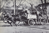 Fire Engine, Boise, Idaho, at the Turn of the Century Photographic Print