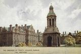 The Grounds of Trinity College, Dublin, Via Holyhead Photographic Print