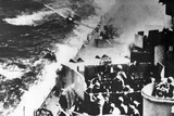 Japanese Kamikaze Plane Attacks USS Missouri, 1944 Photographic Print