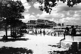La Concha Beach with Havana Yacht Club in the Background, C.1955 Photographic Print