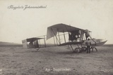 Ago Biplane, Johannisthal Airfield, Berlin, Germany Photographic Print