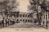 Postcard Depicting the Boulevard Victor-Hugo and the Roman Amphitheatre Photographic Print