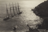 Wreck of the Adolf Vinnen, the Lizard, Cornwall, February 1923 Photographic Print