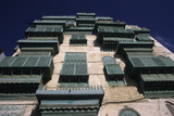 House with Balconies, Old Town, Jeddah, Saudi Arabia Photographic Print