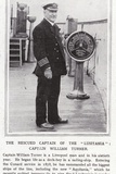 The Rescued Captain of the Lusitania, Captain William Turner Photographic Print