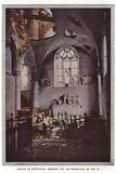 L'Eglise De Montceaux, Detruite Par Les Projectiles De Nos 75 Photographic Print by Jules Gervais-Courtellemont