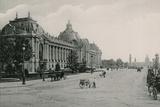 Champs-Elysees, Let Petit Palais, Champs Elysees, the Little Palace Photographic Print