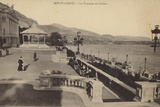 Postcard Depicting the Terrace of the Monte Carlo Casino Photographic Print