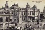 Postcard Depicting the Facade of the Monte Carlo Casino Photographic Print